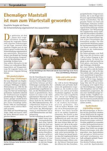 Vom Maststall zum Wartestall.pdf - Dr. Neinhaus Verlag AG