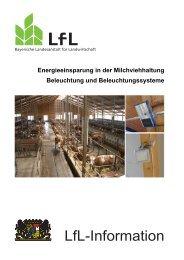Energieeinsparung in der Milchviehhaltung - Bayerische ...