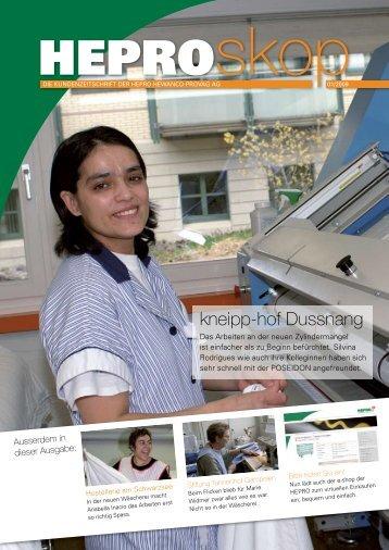 PDF-Datei ansehen - HEPRO Hewanco-Provap AG