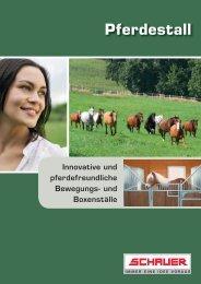 Schauer Pferdestall.indd - Spezielle-Agrar-Systeme GmbH