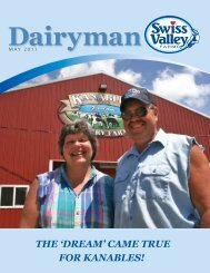 The 'Dream' Came True for kanables! - Swiss Valley Farms