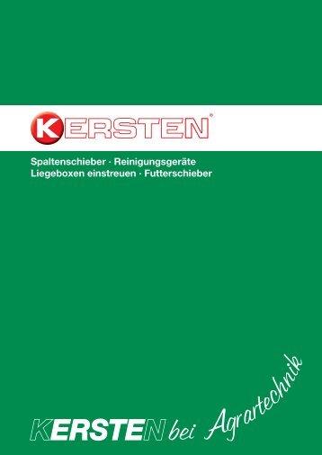 Kersten Broschüre Agrartechnik - Kersten Maschinen GmbH