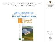 Lüftung optimal steuern – Heiz- und Stromkosten ... - Sachsen-Anhalt