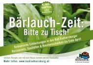 Bärlauchpalatschinken mit Spargel Bärlauch ... - Bad Radkersburg