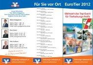 EuroTier 2012 - Schleswiger Volksbank eG