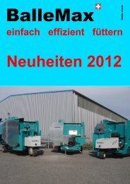BalleMax Neuheiten 2012 - Stalltec