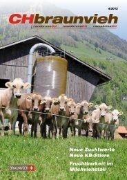 Neue Zuchtwerte Neue KB-Stiere Fruchtbarkeit im Milchviehstall