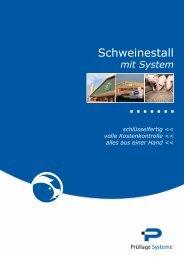 Schweinestall - Prüllage Systeme GmbH