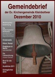 Gemeindebrief - Evangelische Kirchengemeinde Kleinbottwar