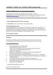Amtsblatt Nr. 08/2012 vom 23.02.2012 Markt Frammersbach ...