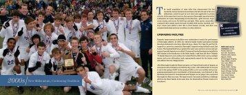 2000s New Millennium, Continuing Tradition - John Burroughs School