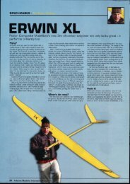ERWIN XL - Podivin Composite Modellbau