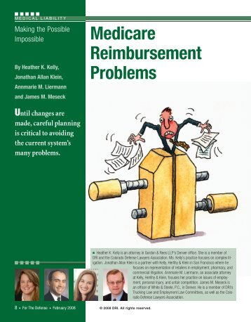 Medicare Reimbursement Problems - DRI