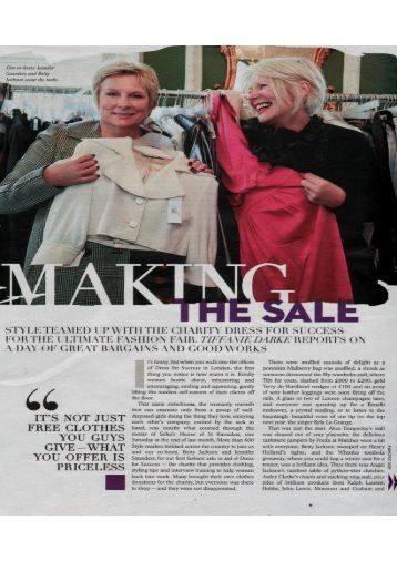 Sunday Times Style December 2011 - Quintessentially Events