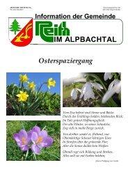 Ausgabe 2/2006 (0 bytes) - Reith im Alpbachtal - Land Tirol