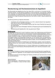 Renaturierung und Hochwasserschutz am ... - Francke + Knittel