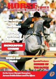 HORSES OF THE DUTCH HORSES OF THE DUTCH - Horse Times
