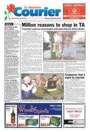 Te Awamutu Courier - September 28th, 2006 - Te Awamutu Online