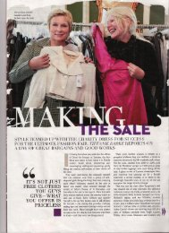 to read the full Style article - Dress for Success London