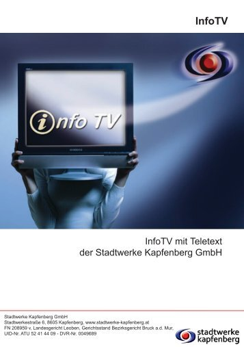 InfoTV - Stadtwerke Kapfenberg GmbH