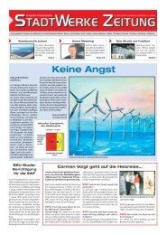 Ausgabe September 2009 - Stadtwerke Finsterwalde