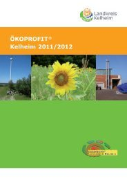 ÖKOPROFIT® Kelheim 2011/2012 - Arqum