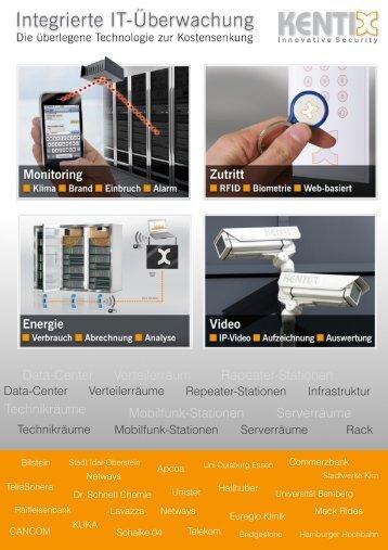 Data-Center Verteilerräum Repeater-Stationen ... - Kentix GmbH