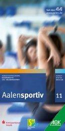 Fitness- & Gesundheitssport - Stadt Aalen