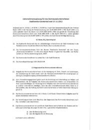 Stadtwerke Geretsried vom 27.11.2012 - Stadt Geretsried
