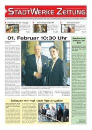 Ausgabe März 2010 - Stadtwerke Finsterwalde