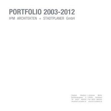 H2m Architekten portfolio brenner brenner architekten