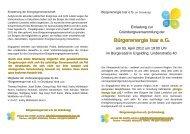 Bürgerenergie Isar e.G. - Kreisgruppe Landshut des Bund Naturschutz