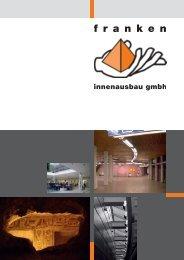 Image-Brochur - Franken Innenausbau GmbH