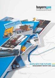 annual report 2009 (PDF) - Bayerngas GmbH