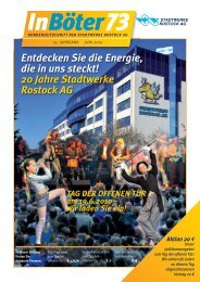 20 Jahre Stadtwerke Rostock AG