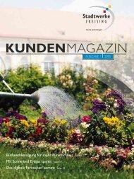 Kundenmagazin 1 / 2005 - Freisinger Stadtwerke