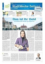 Ausgabe März 2012 (ca. 3,5 MB) - Stadtwerke Finsterwalde