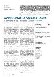 solarkirche halden - Solar Agentur Schweiz