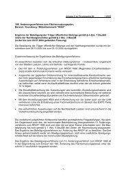 - 1 - Anlage 2 zu Drucksache Nr. / 2005 186. Änderungsverfahren ...