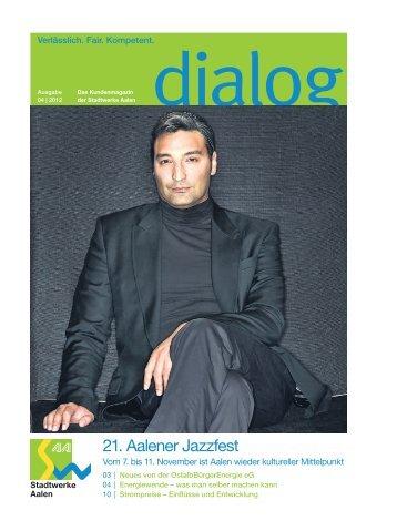 dialog 4 2012 - Stadtwerke Aalen