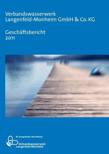 Geschäftsbericht 2011 - Stadtwerke Langenfeld