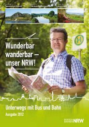 Wunderbar wanderbar – unser NRW! - Stadtwerke Remscheid