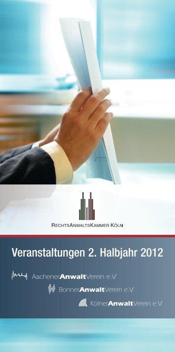 NEU! - Rechtsanwaltskammer Köln