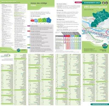 Schienennetz 2013 - VRS