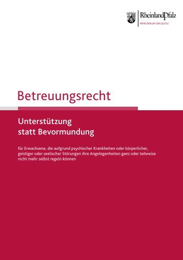 Betreuungsrecht - Stadt Frankenthal