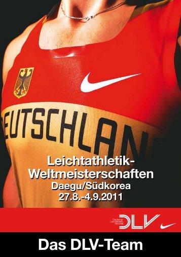 Leichtathletik- Weltmeisterschaften Leichtathletik ... - DLV