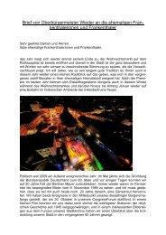 Brief von Oberbürgermeister Theo Wieder an ... - Stadt Frankenthal