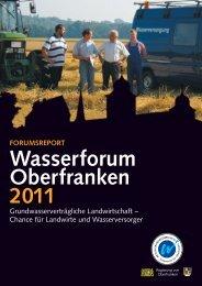 Bericht WF Ofr 2011 - AKTION GRUNDWASSERSCHUTZ - Trinkwasser für ...