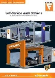 Self-Service Wash Stations - FRANK GmbH Hochdruckreiniger