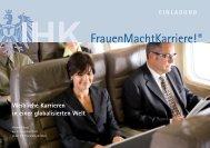 Einladungsflyer FrauenMachtKarriere! - Deutscher Frauenrat